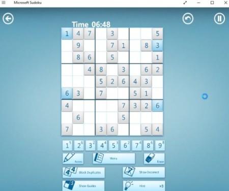 microsoft sudoku puzzle
