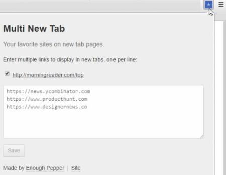 multi new tab home1