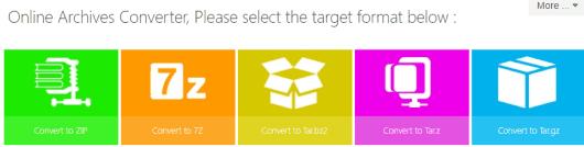 online archive converter
