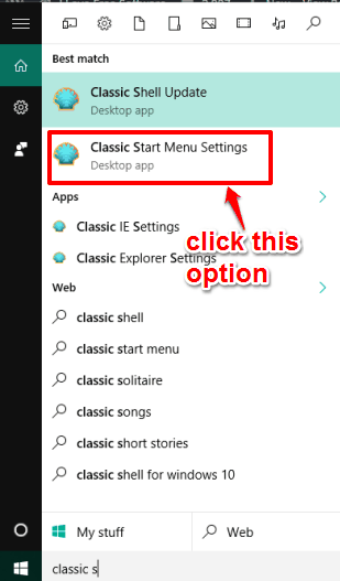 open settings of this software