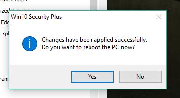 reboot pc