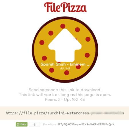 share file URL