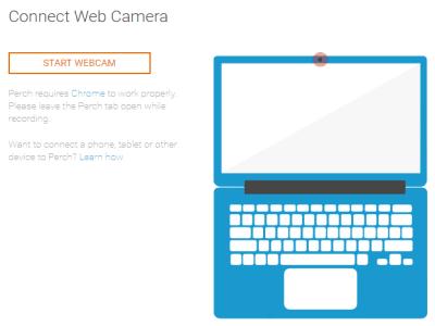 start webcam