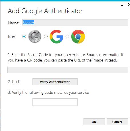 Add Google Authenticator