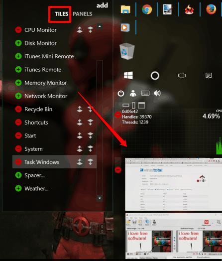 add mini programs to sidebar