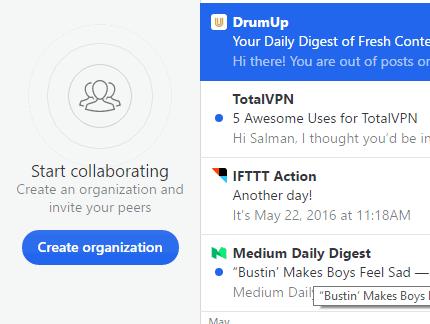 add organisation