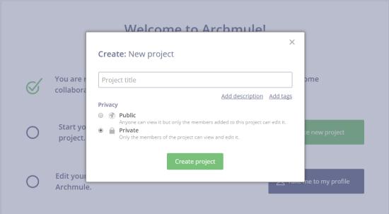 archmuleprojectmake