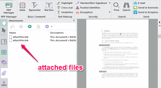 attached files