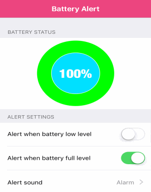 How to Get Battery Full Notification on iPhone