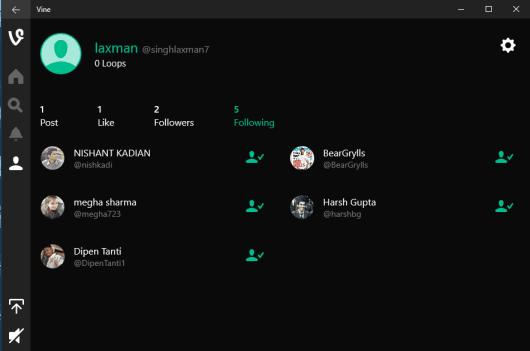 check your profile