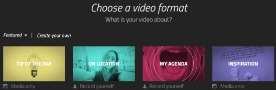 free video production web app