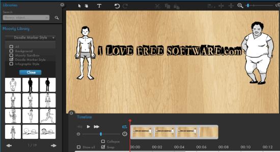 create animated presentations