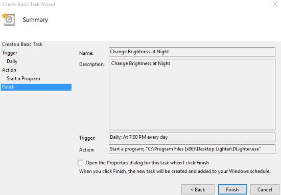 desktop lighter task
