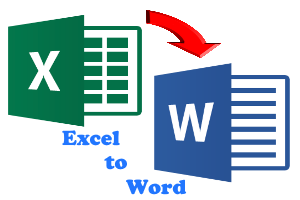excel to word featured