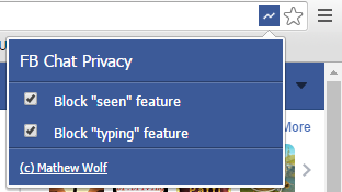fb chat privacy