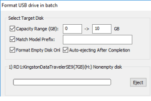 format multiple flash drives at once