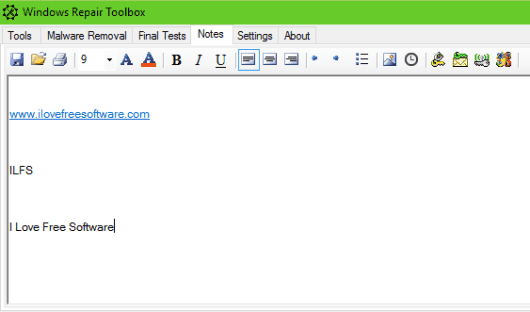 free text editor software