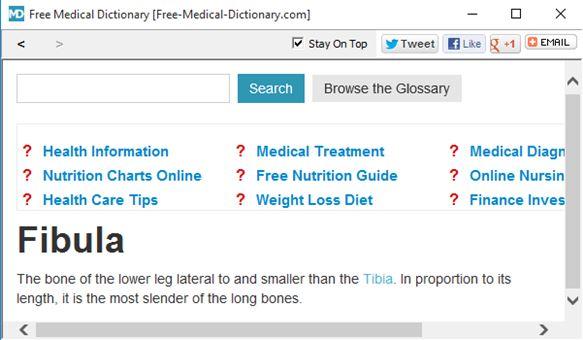 medical dictionary software windows 10 1
