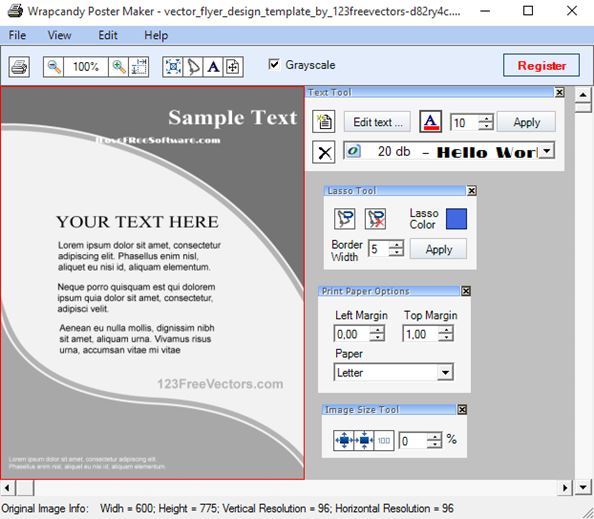 poster design software windows 10 2