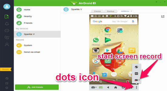 4 Free Software to Record Android Screen on PC