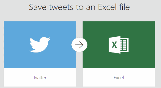 save tweets to excel