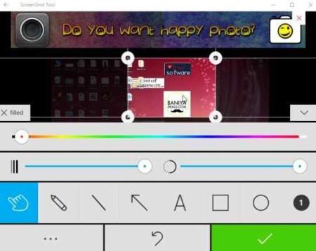 screenshot tool edit