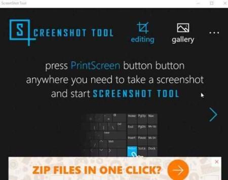 screenshot tool home