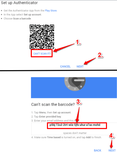 select can't scan barcode and then copy the code