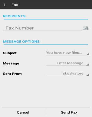 send fax