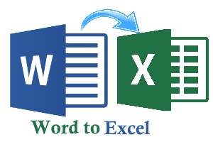 word to excel online