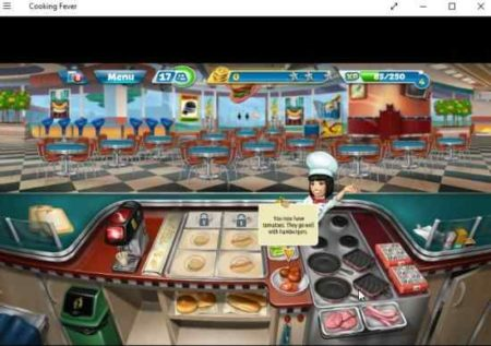 cooking fever restaurant