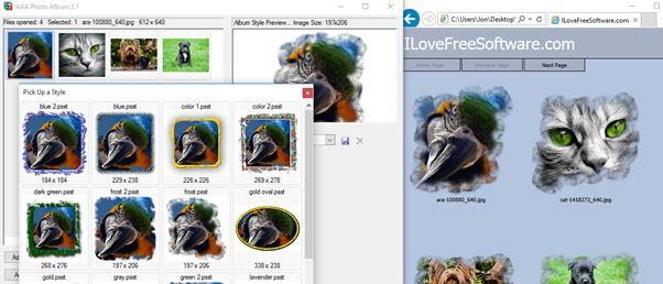 html image gallery creator software windows 10 2