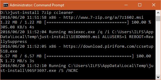installing multiple software