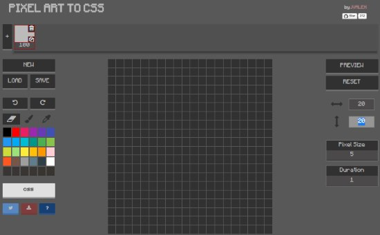 Create Pixel Art And Convert It Into Css Pixel Art To Css