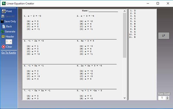 4 Math Worksheet Generator Software For Windows 10 Create my own math worksheets