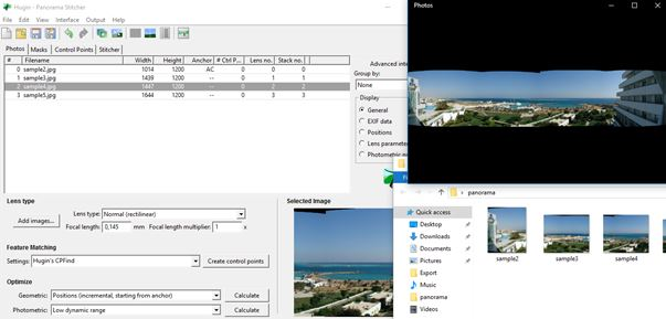 panorama creator software windows 10 1