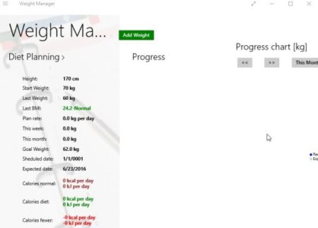 weight manager home