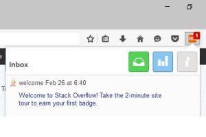 StackExchange notifier for Firefox