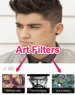 art filters