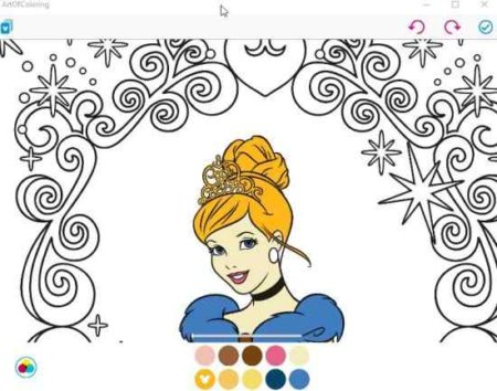 art of coloring by disney colring page