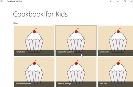 cookbook for kids home
