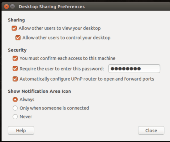 desktop sharing