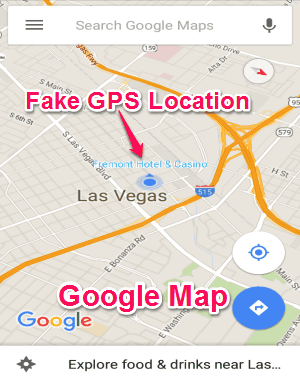 How To Fake Current Gps Location On Android