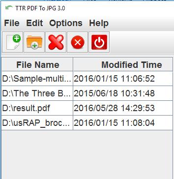 insert PDF files