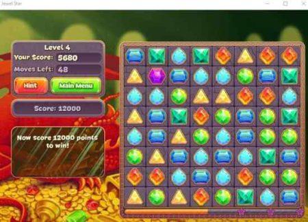 jewel star gameboard