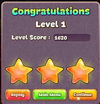 jewel star level up