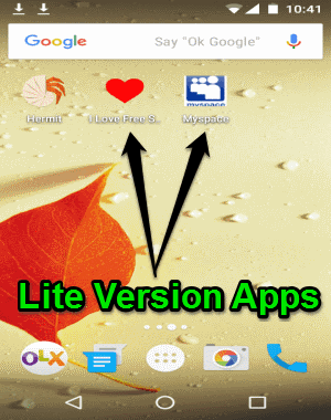 lite version app