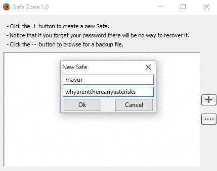 login safe zone