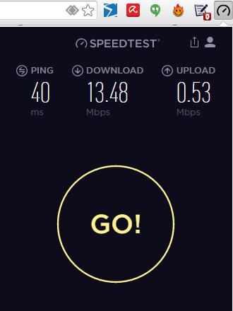 ookla internet speed