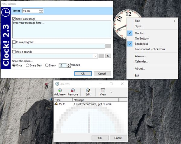 pc alarm clock software windows 10 5